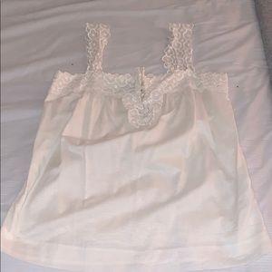 Jcrew cotton white blouse